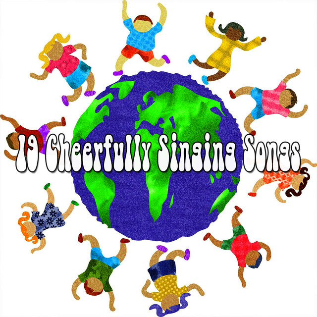 Album cover for 19 Cheerfully Singing Songs by Canciones Infantiles