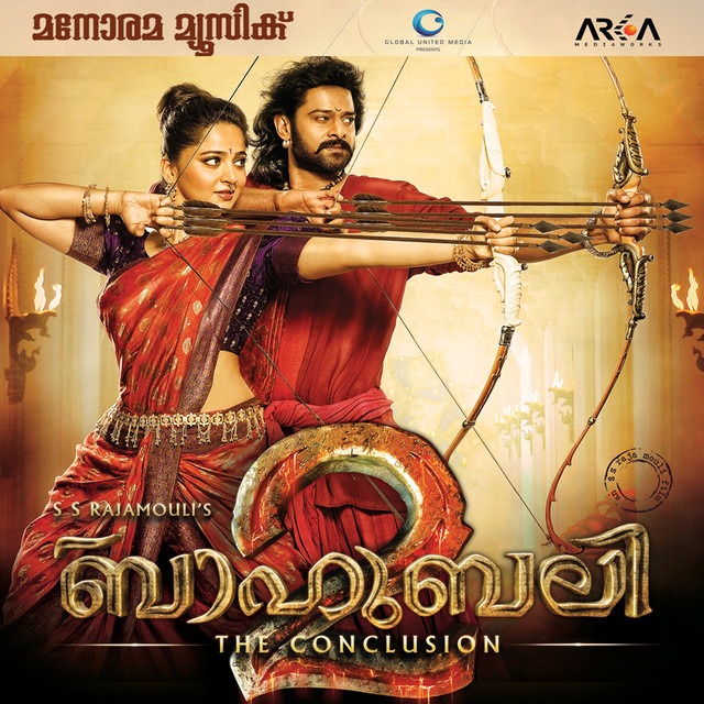 Album cover for Bahubali 2 - The Conclusion (Original Motion Picture Soundtrack) by M. M. Keeravani