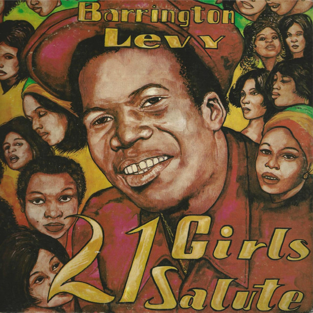 Barrington Levy 21 Girls Salute album cover