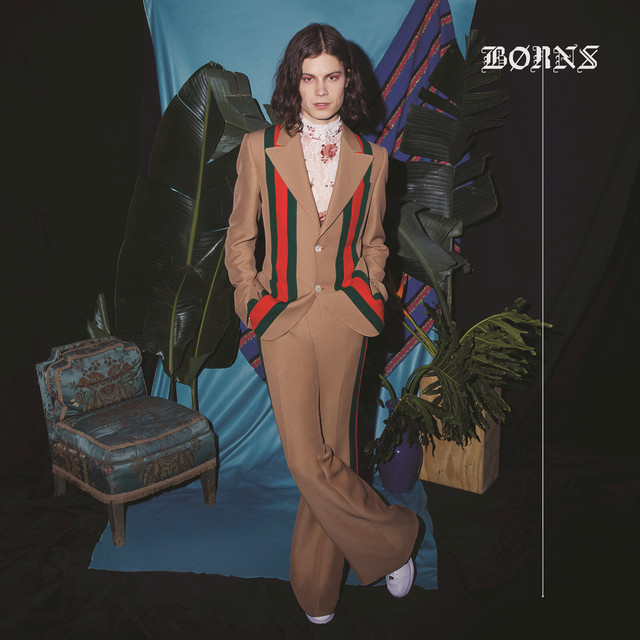 Album cover for Blue Madonna by BØRNS