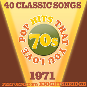70s Pop Songs That You Love-1971-40 Classic Hits Albumcover