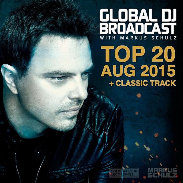Global DJ Broadcast - Top 20 August 2015 Albumcover