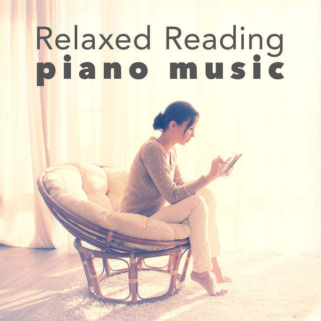 Relaxed Reading Piano Music Albumcover