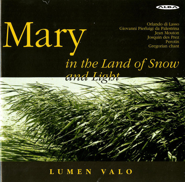 Mary in the Land of Snow and Light Albumcover