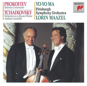 Prokofiev: Sinfonia Concertante; Tchaikovsky: Rococco Variations; Andante Cantabile (Remastered) Albumcover