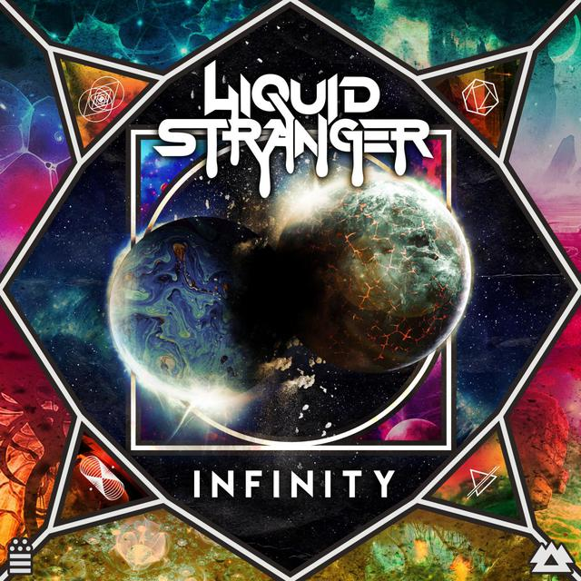 Album cover for INFINITY by Liquid Stranger