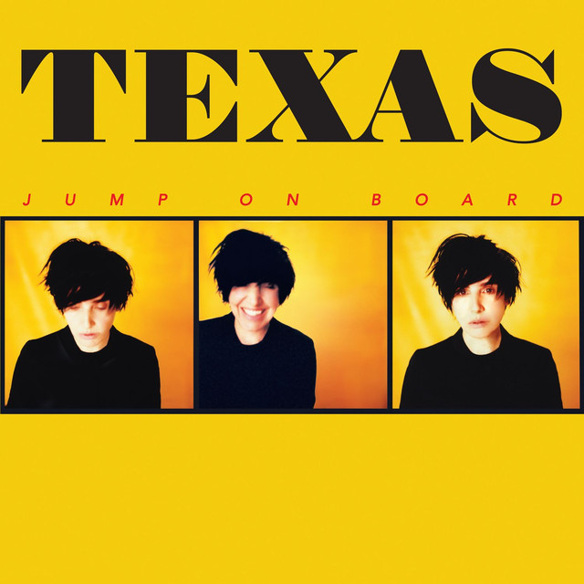 Album cover for Jump on Board by Texas