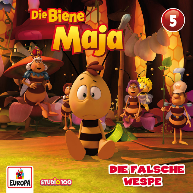05 - Die falsche Wespe (CGI) Cover