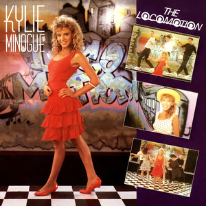 Kylie Minogue The Loco-Motion - Album Backing Track cover