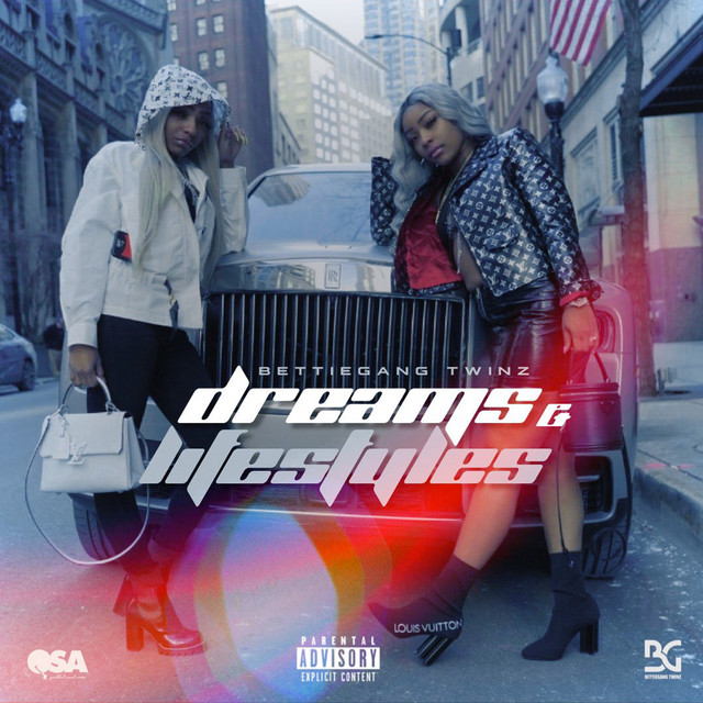 Album cover for Dreams & Lifestyles by BettieGang Twinz
