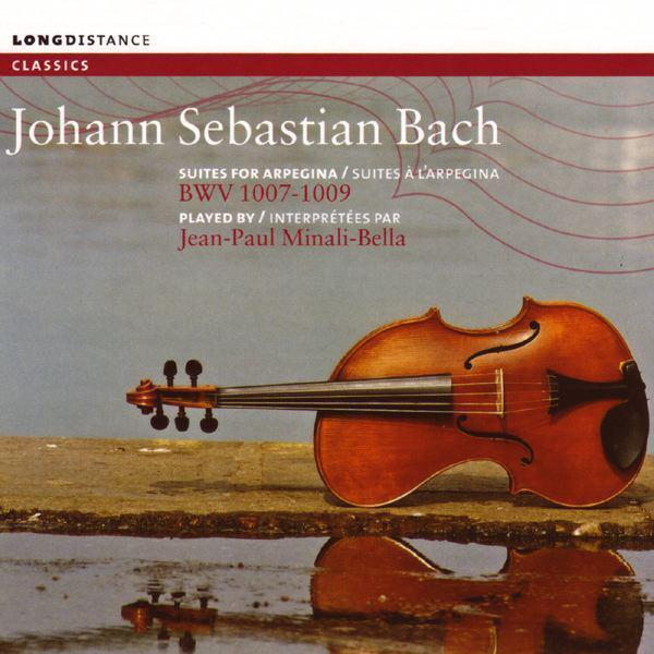 Bach: Suites for Arpegina BWV 1007-1009 Albumcover