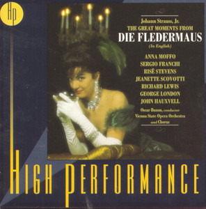 The Great Moments from Die Fledermaus album