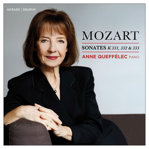 Mozart: Sonates pour piano, K. 331, 332 & 333 Albümü