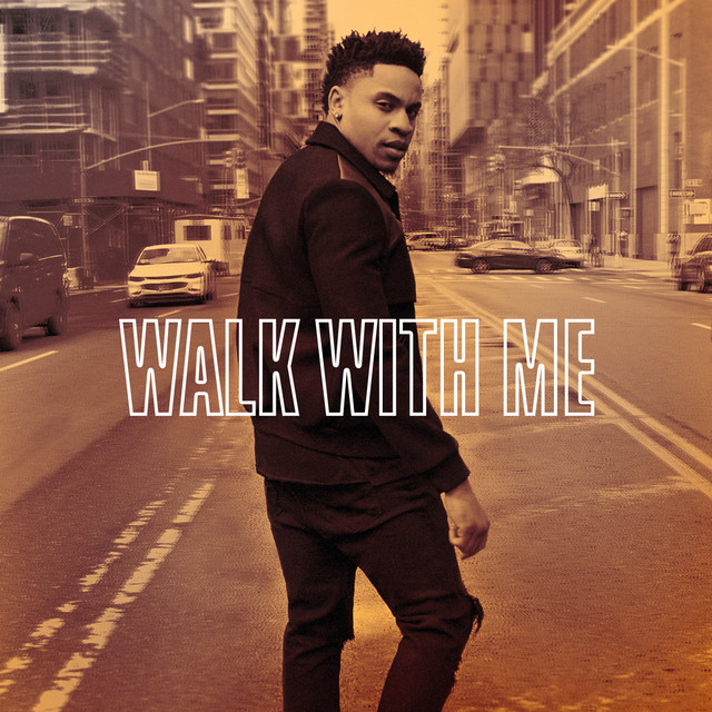 Album cover for Walk With Me by Rotimi