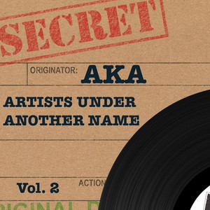 Secret AKA: Artists under Another Name, Vol. 2 Albumcover