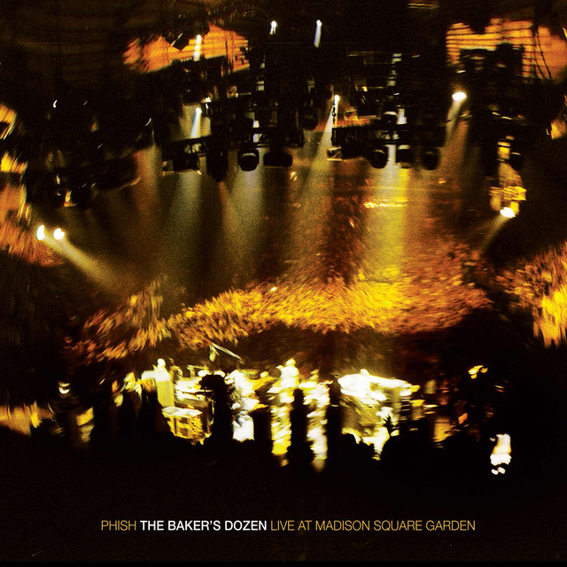 Album cover for The Baker's Dozen: Live At Madison Square Garden by Phish