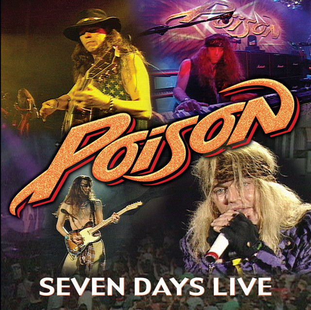 Poison Seven Days Live album cover