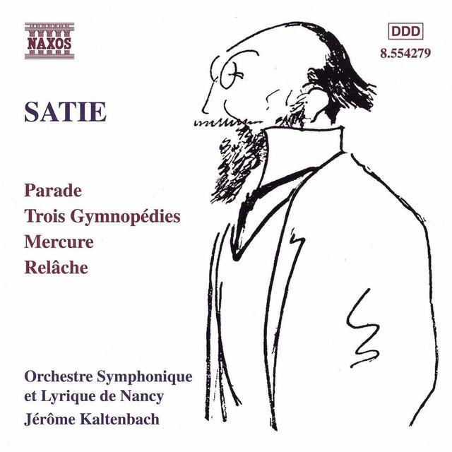 Satie: Parade, Gymnopédies, Mercure & Relâche Albumcover