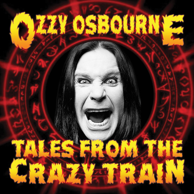 Album cover for Tales From The Crazy Train by Ozzy Osbourne