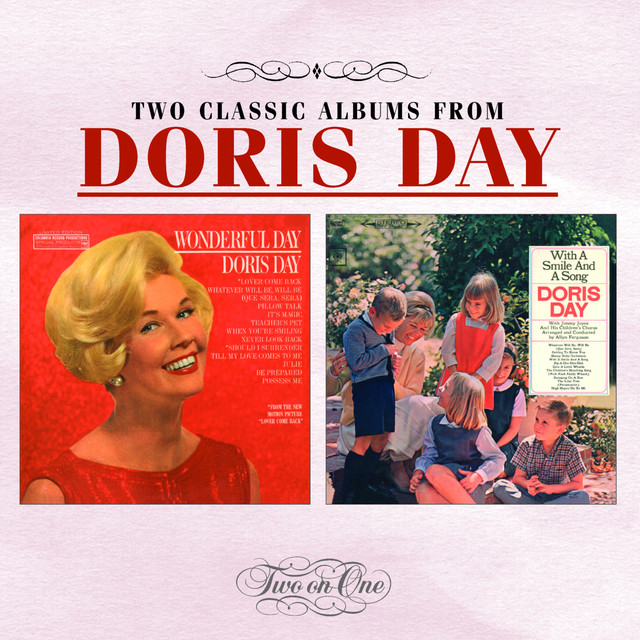 Doris Day Wonderful Day / With A Smile And A Song album cover