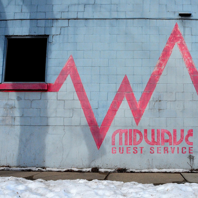 Album cover for Guest Service by MIDWAVE