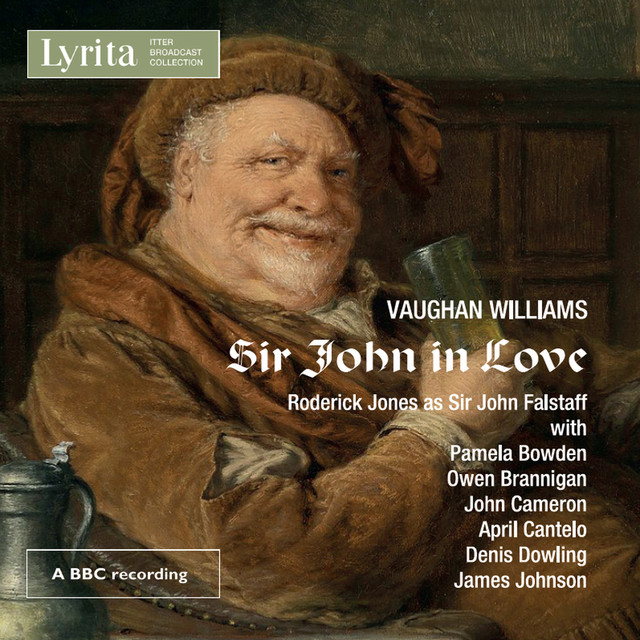 Vaughan Williams: Sir John in Love - An Opera in Four Acts Albumcover