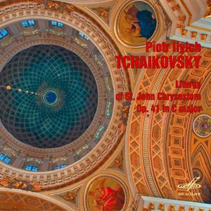 Tchaikovsky: Liturgy of St. John Chrysostom, Op. 41 (Live) Albumcover