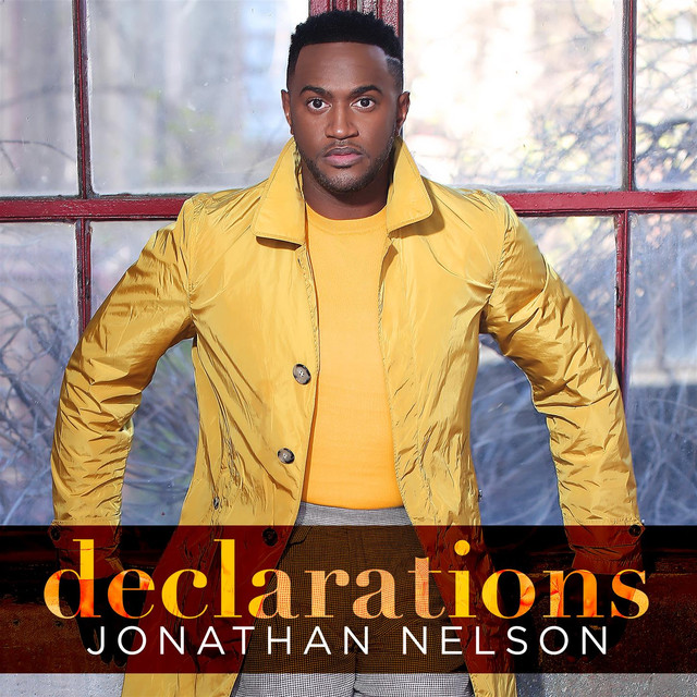 Album cover for Declarations by Jonathan Nelson
