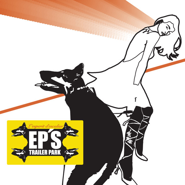 Skivomslag för EP's Trailer Park: L'esprit D'escalier