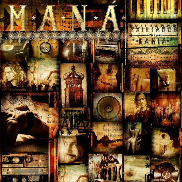 Maná Lo mejor de album cover