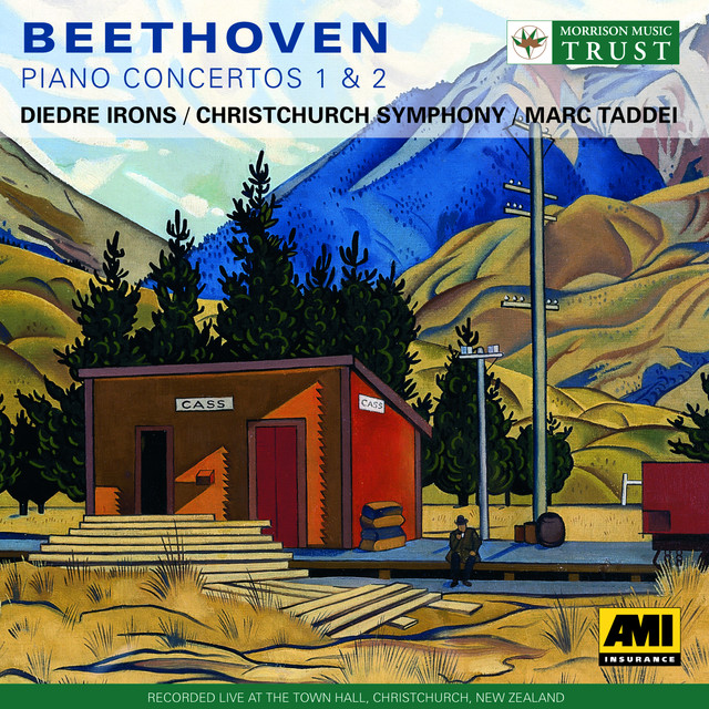 Beethoven: Piano Concertos Nos. 1 and No. 2 Albumcover