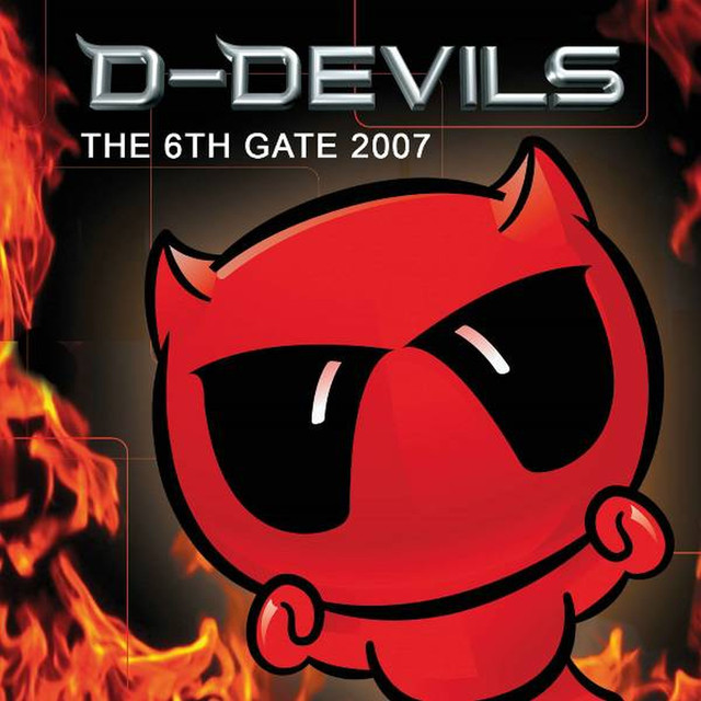 D-Devils The 6th Gate 2007 album cover