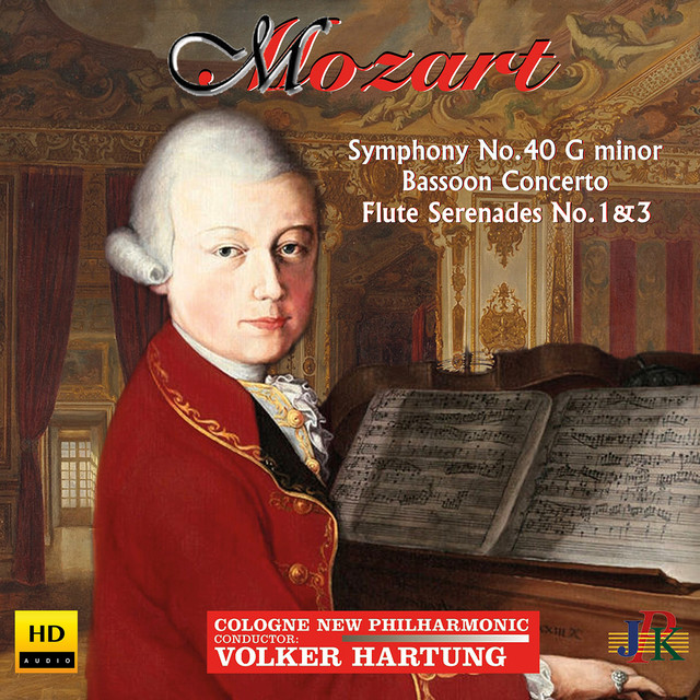 Mozart: Symphony No. 40 in G Minor, Bassoon Concerto & Flute Serenades Nos. 1 & 3