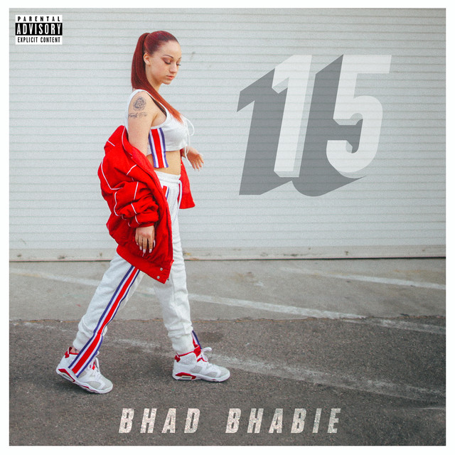 Album cover for 15 by Bhad Bhabie