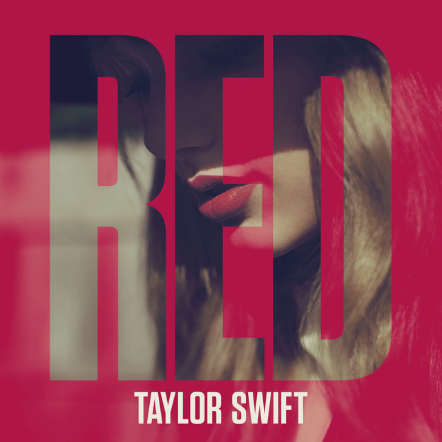 Taylor Swift Red (Deluxe Edition) album cover