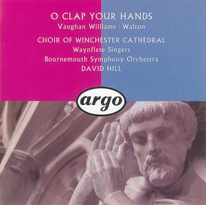 Walton/Vaughan Williams: O Clap Your Hands album