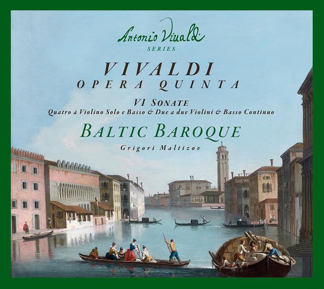 Vivaldi: 6 Sonatas Albumcover