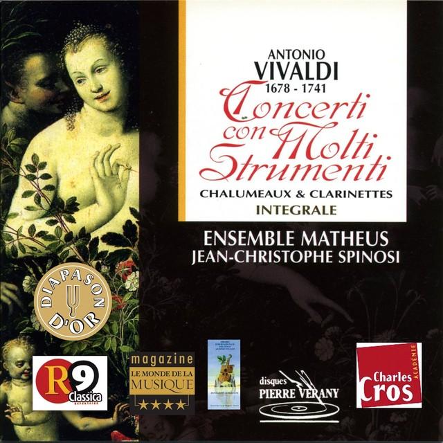 Vivaldi : Concerti con molti strumenti vol.1 Albumcover
