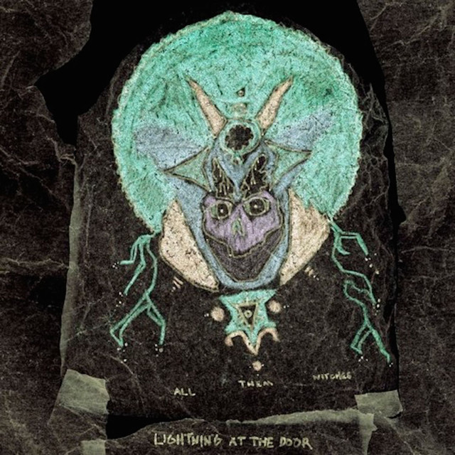 Album cover for Lightning At the Door by All Them Witches