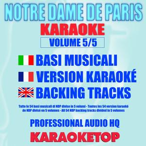 Notre Dame De Paris, Vol. 5/5 (Karaoke Version) album