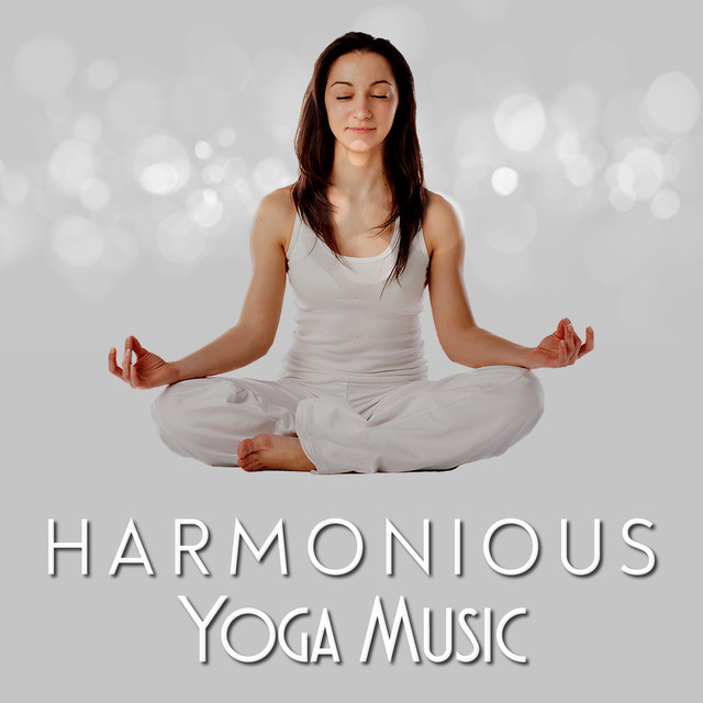 Album cover for Harmonious Yoga Music by Yoga Music