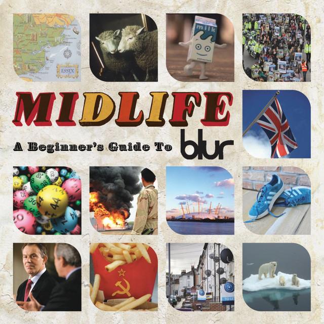 Skivomslag för Blur: Midlife: A Beginner's Guide To Blur