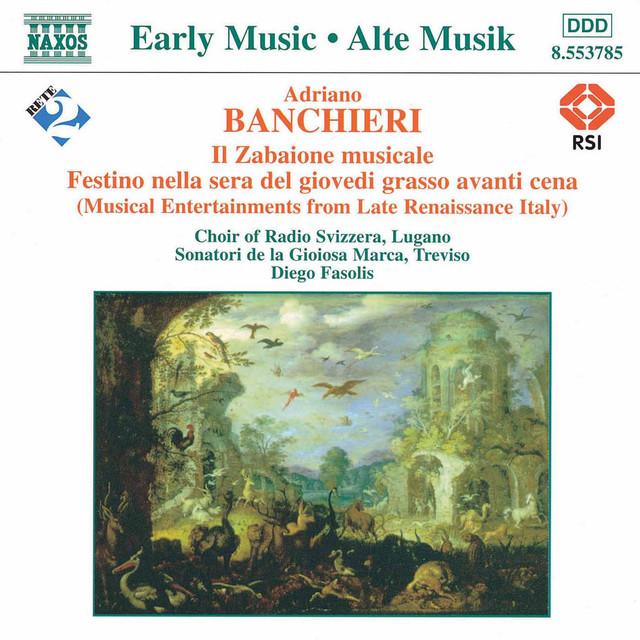 Banchieri: Il Zabaione Musicale Albumcover