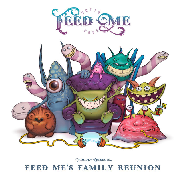 Album cover for Feed Me's Family Reunion by Feed Me