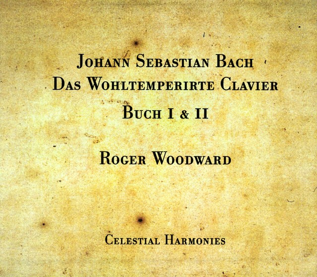 Bach, J.S.: The Well-Tempered Clavier, Books 1 and 2 Albumcover