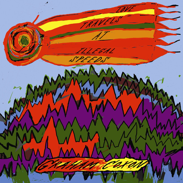 Album cover for Love Travels At Illegal Speeds by Graham Coxon
