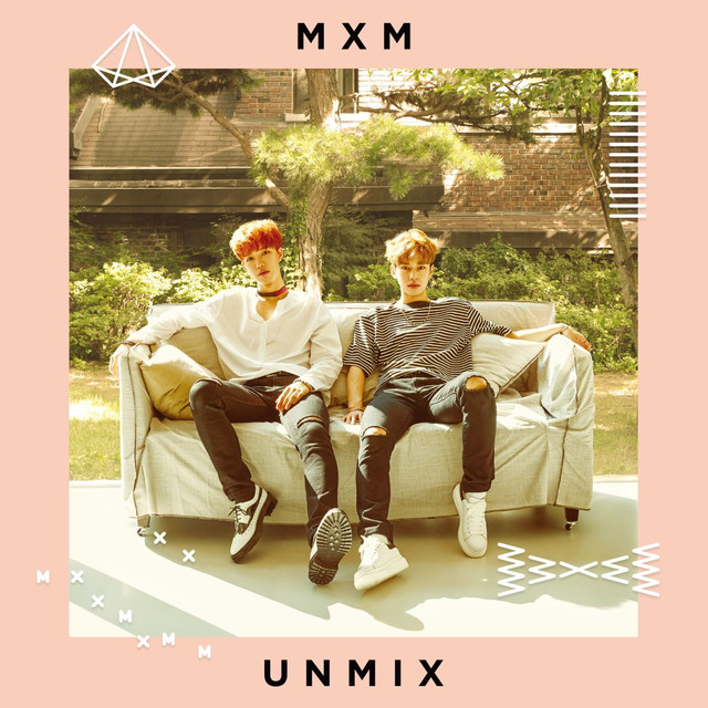 Album cover for UNMIX by MXM (BRANDNEW BOYS)