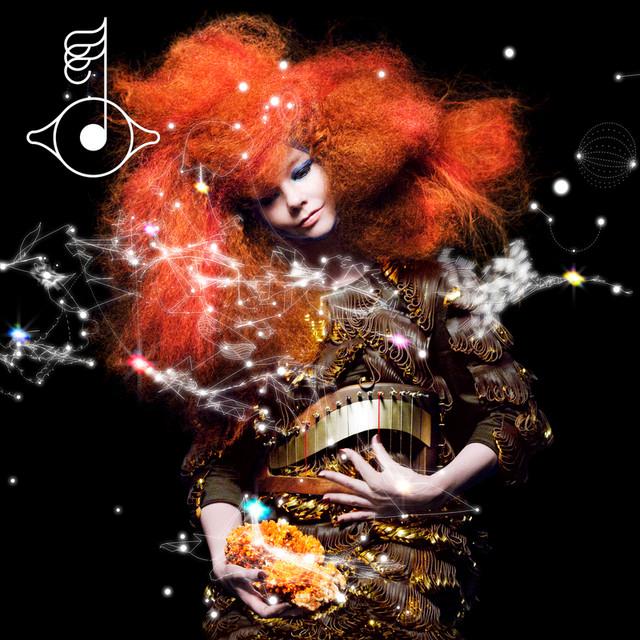 Skivomslag för Björk: Biophilia