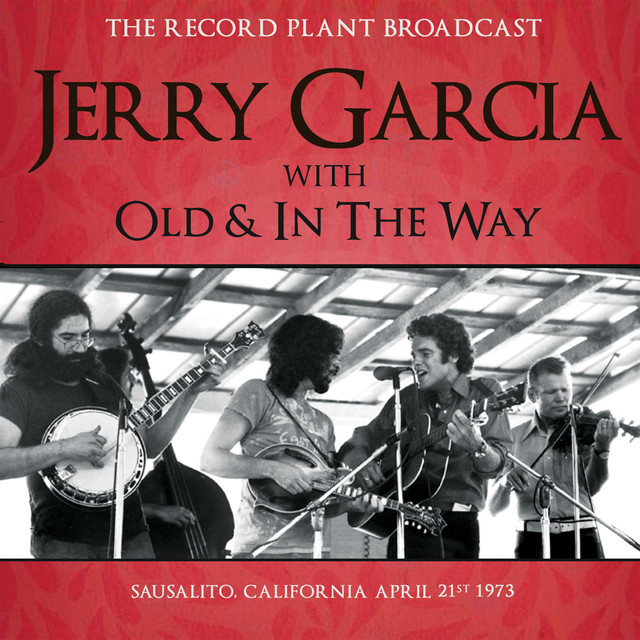 Jerry Garcia The Record Plant Broadcast (Live) album cover