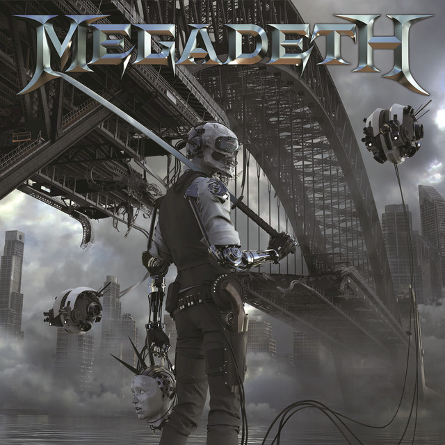 Album cover for Dystopia by Megadeth